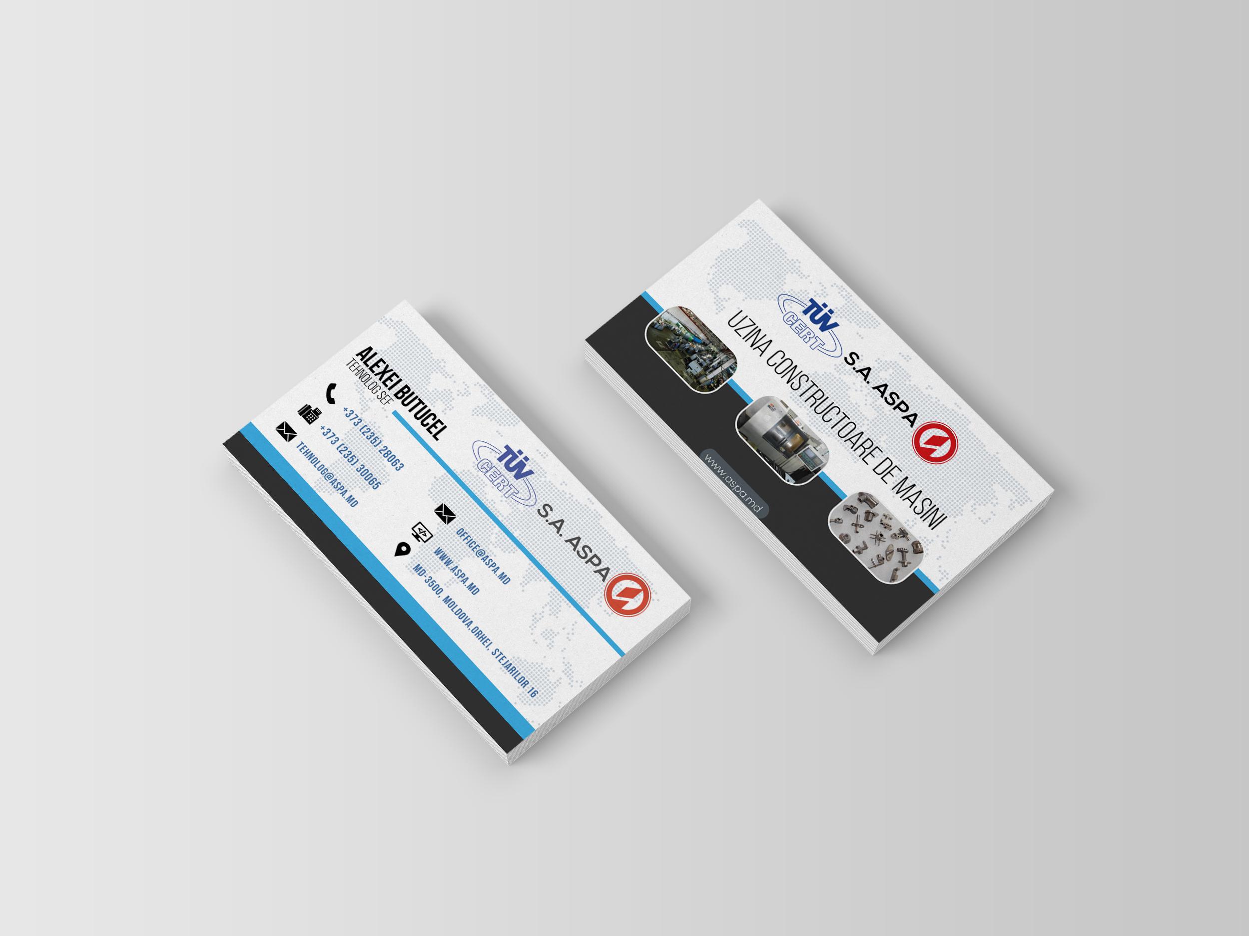 ASPA x Business Card – | Vladislav Vaduvescu